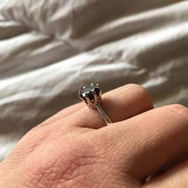 2.3CT BLACK DIAMOND RING