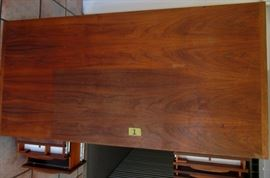 Jens Risom Executive Walnut desk # 1
