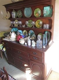 Cherry Hutch with open top, $450.00