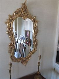 French style decorative mirror $$150.00