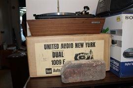 Vintage United Audio Turn Table with original box