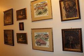 Asian Art, Native American Art