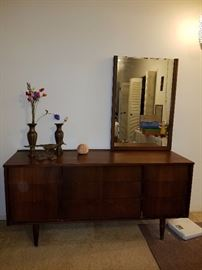 Mid-Century Modern Dresser with mirror