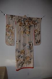 Ceremonial Japanese Kimono