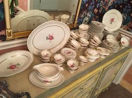 "Castleton China, Made in the USA "" Dolly Madison "" all for $325."