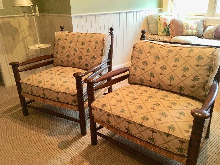 Pair of Bob Timberlake arm chairs
