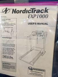 Nordic Track Exp 1000 treadmill