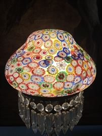 Millefiori  Glass Lamp