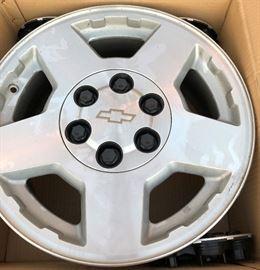 4 Chrome Wheels MKW-9