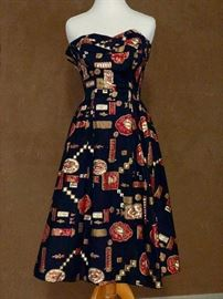 Vintage clothing dress by Alfred Shaheen