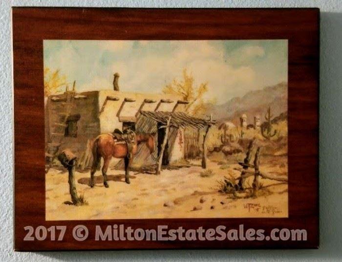 American Western Artist William T. Zivic