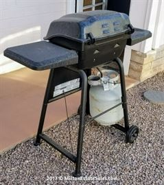 Small Gas Barbeque Grill