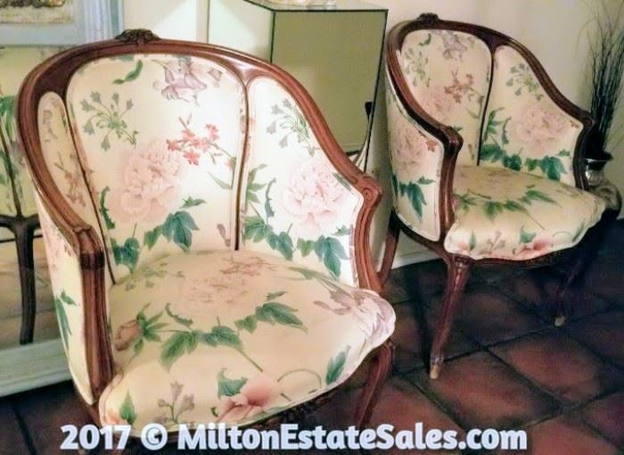 Vintage Sitting Chairs