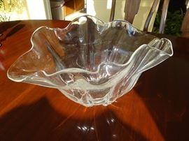 Steuben Glass Dish
