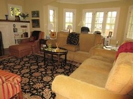Almost everything in this living room will be for sale (not coffee table)