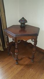 Antique Octagon Table