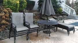 Handsome outdoor furniture suitable for any home.