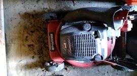 Snapper 5hp push mower. Used.