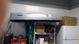 Thule roof box.