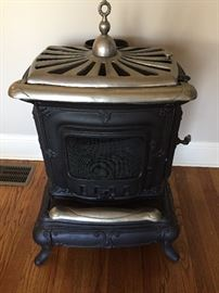 Front view - parlor stove