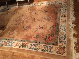 Room size Chinese rug