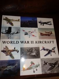 WWII Aircraft book oversized