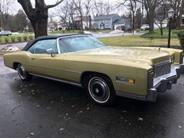 Very Clean 1976 Cadillac Eldorado Convertible.     52,000 mi.   Can be sold before sale.  $25,000.  OBO