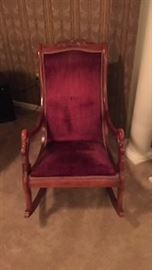 Victorian reproduction rocking chair, original from MasterCraft Interiors