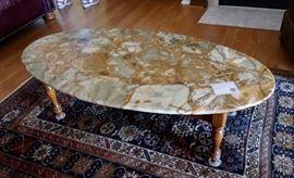 Gorgeous Stone Top Table