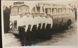Photo postcard Texas rhythm boys