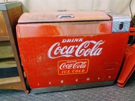Vintage Coca-Cola machines