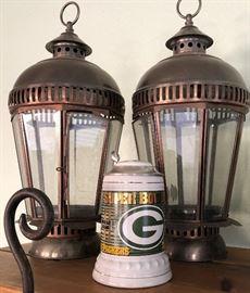 Lanterns and Green Bay Stein