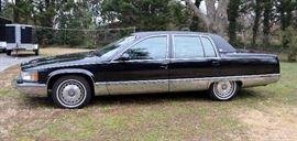 1995 Cadillac Fleetwood Brougham  Triple Black(rare); leather interior; RWD LT-1Engine Mileage 74,014