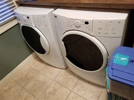 Front loader washer and dryer