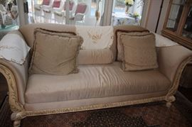 Sofa and Decorative Pillows