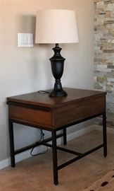 Table Lamp, End Table