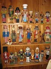 collection of great nutcrackers , most signed