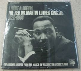Dr. Martin Luther King, JR. Record Album