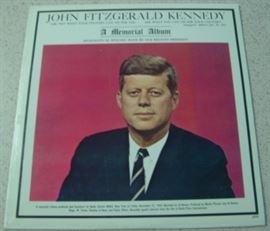 John F Kennedy Record Album