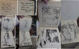 Sketchbooks of Tex Henson
