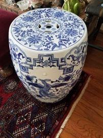 Asian garden stool