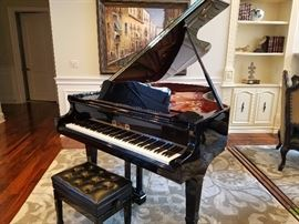 Lovely Grand Piano.  Perzina T-161. 4 Yrs Old.  No Tune Up Needed.