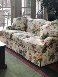 Stunning Floral Sofa