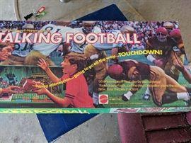 Vintage Talking  football game