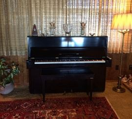 Yamaha Piano And Stiffel  Floor Lamp