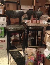 Vintage stools, occasional chairs & end tables