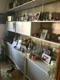 Mid-century shelving unit
