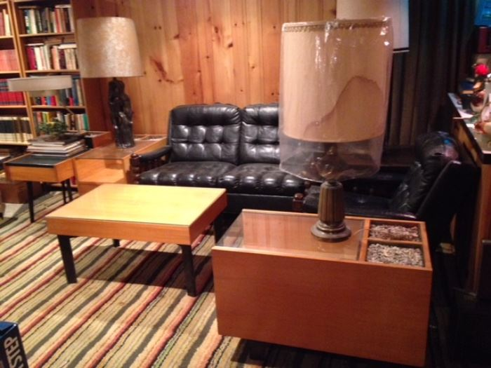 Basement is loaded with retro Furniture & collectibles