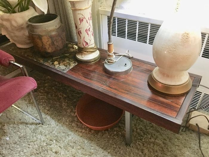 Vintage long coffee table