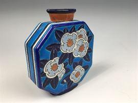 Longwy Art Deco Vase